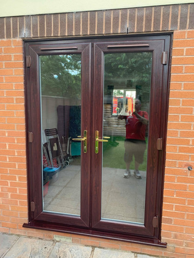 Rosewood French Doors