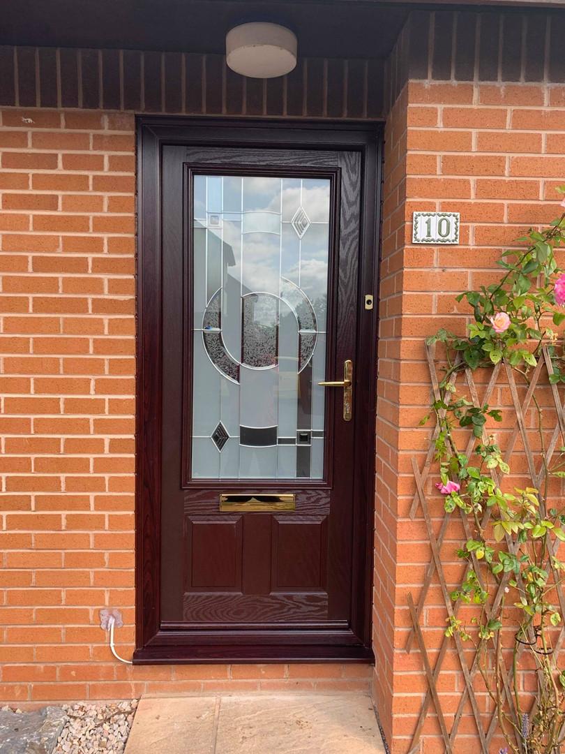 Rosewood Front Door