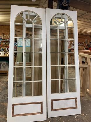 Hardwood Double Doors