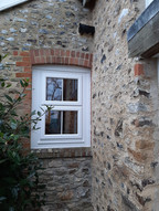 White pvc Window