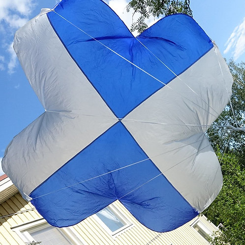 76x76 parachute up to 1kg drone