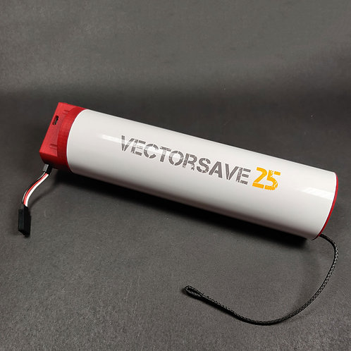 VectorSave™25 system with parachute for 3-4kg multicopter or fixed wing