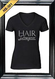 Hairstylist Rhinestone Shirts