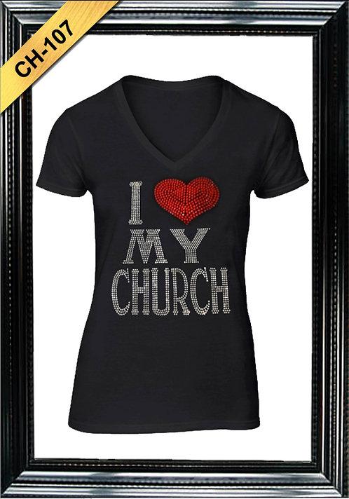 CH-107 - I LOVE MY CHURCH