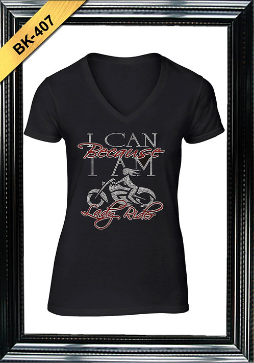 BK-407 - I CAN BECAUSE I AM - RED