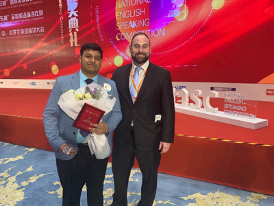ONE BELT ONE ROAD -ONE ROAD -INTERNATIONAL ENGLISH SPEAKING CONTEST 2019-WINNER PHOTO