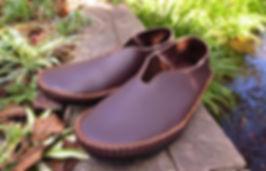 石丸靴工房の体験教室バブーシュ