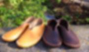 石丸靴工房の体験靴作り教室バブーシュ