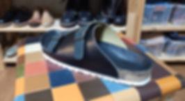 石丸靴工房のフットベッドサンダル体験教室