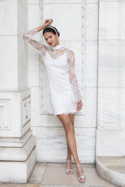 KATE French Lace Mini Dress