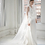 Thumbnail: ALENA 3D Floral Cathedral Length Veil with Blusher