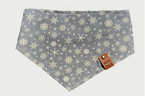 Item # C - Christmas Grey Snowflakes