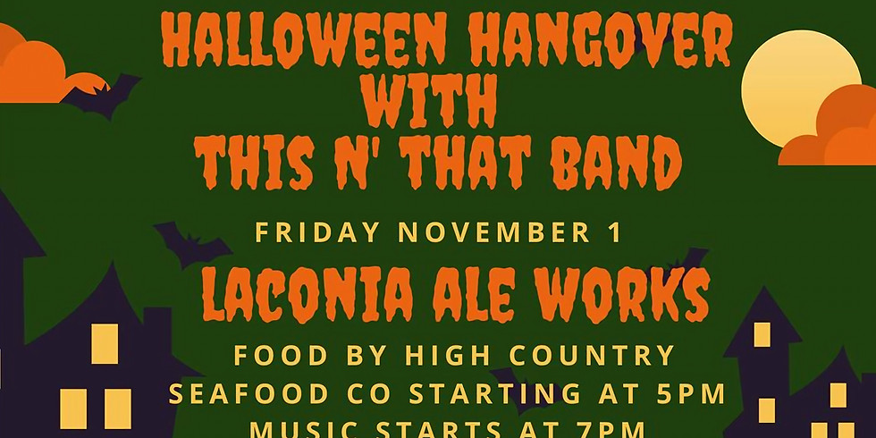 Halloween Hangover with This N' That Band
