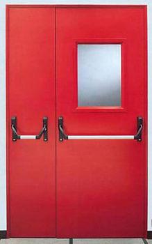 Двери противопожарные с антипаникой