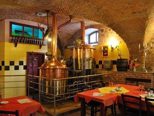 15 февраля 2017 - День открытых дверей в пивоварне Святой Флориан в старинном чешском городе Локет.