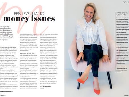 Een leven lang money issues | column Vrouwen&Geld in Beauty Plus Magazine | oktober 2019