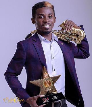 MIZTER OKYERE RECEIVED BEST INSTRUMENTALIST AWARDS IN GHANA
