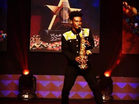 Mizter Okyere's Saxophone Brings Life to VGMA22 Nominees Announcement
