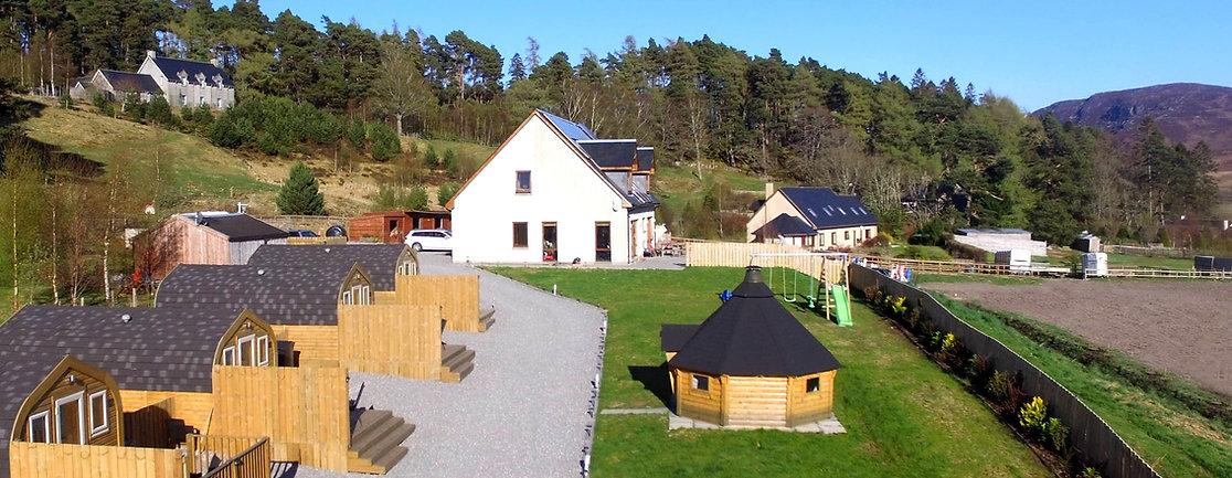 Laggan Glamping |  Glamping Pods | Camping Pods |  Scotland Highlands