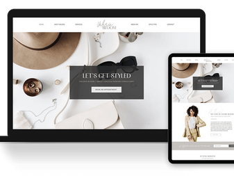 New Image Coach & Fashion Consultant Website Template