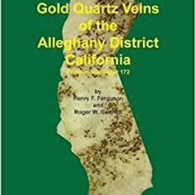 Gold Quartz of the Alleghany District, CA