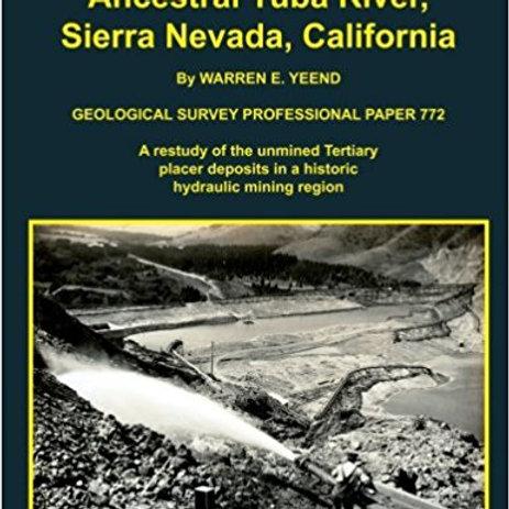 Gold Bearing Gravel of the Yuba River, Sierra Nevada, California