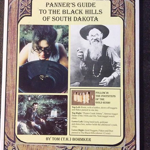 Gold Panner's Guide to South Dakota