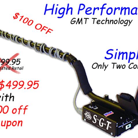 White's SGT Detector
