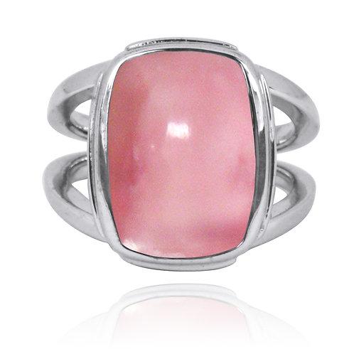 NRB0766-PPKOP - Peru Pink Opal Statement Ring