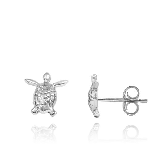NES3701 - Classic Adorable Sea Turtle Stud Earrings