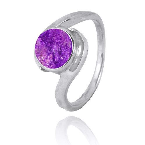 NRB1002-SUG - Classic Sugilite Ring
