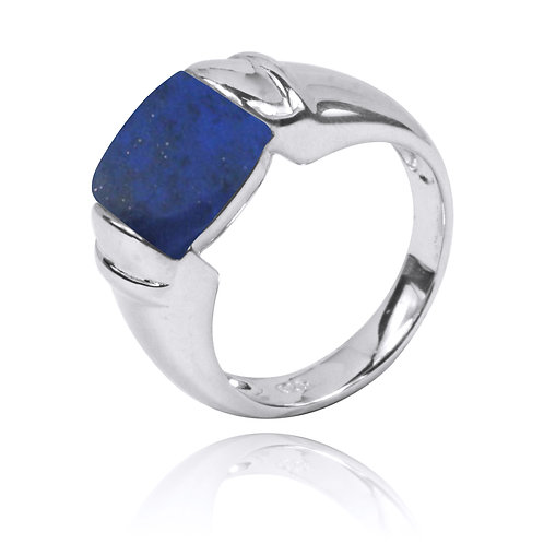 NRB0764-LAP -Classic Ring with Lapis Lazuli Stone