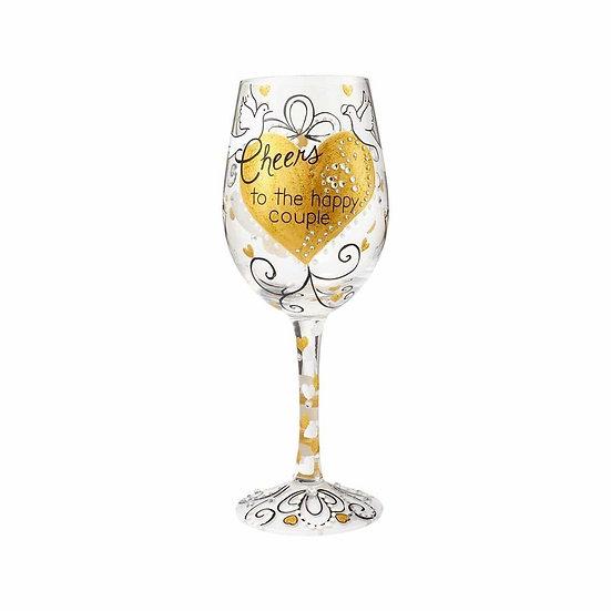 Lolita 'Cheers to the Happy Couple' Wine Glass 444ml