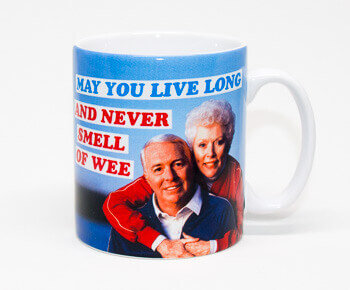 May You Live Long And Never Smell Of Wee - Funny Mug