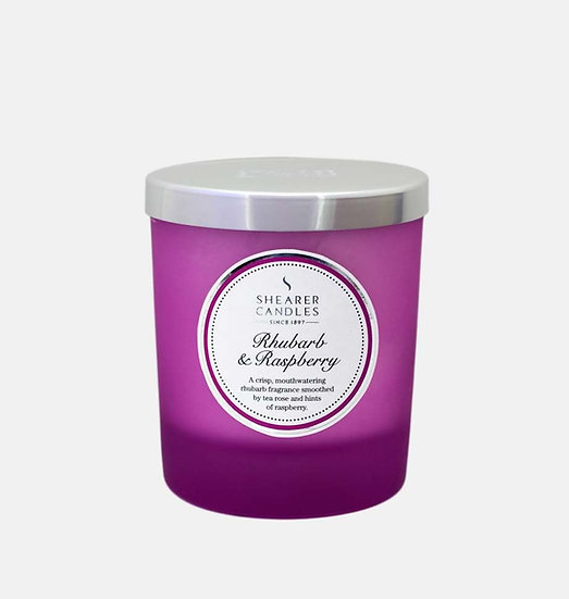 Shearer Candle Rhubarb & Raspberry Jar Candle - Couture Collection
