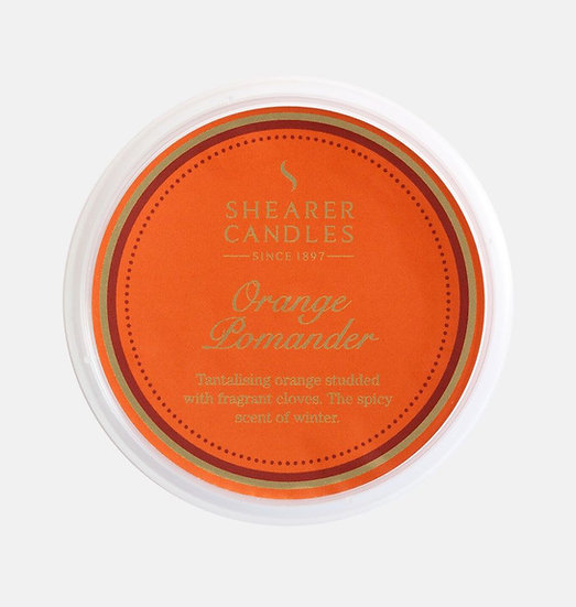 Shearer Candle Orange Pomander Wax Melt - Couture Collection