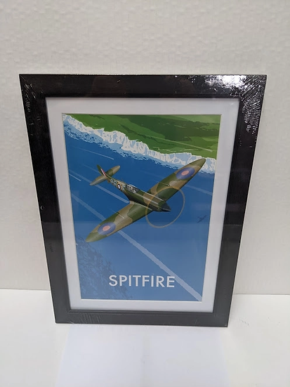 Spitfire Frame Print