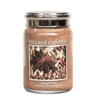 Village Candle Spiced Noir - 26oz Large Candle Jar