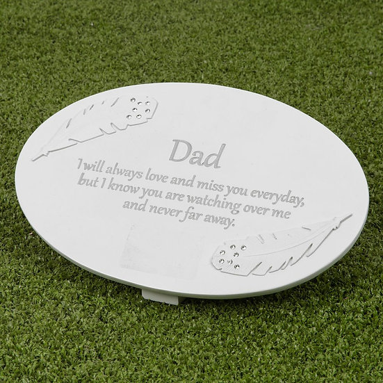 Thoughts Of You Dad - Memorial Plaque