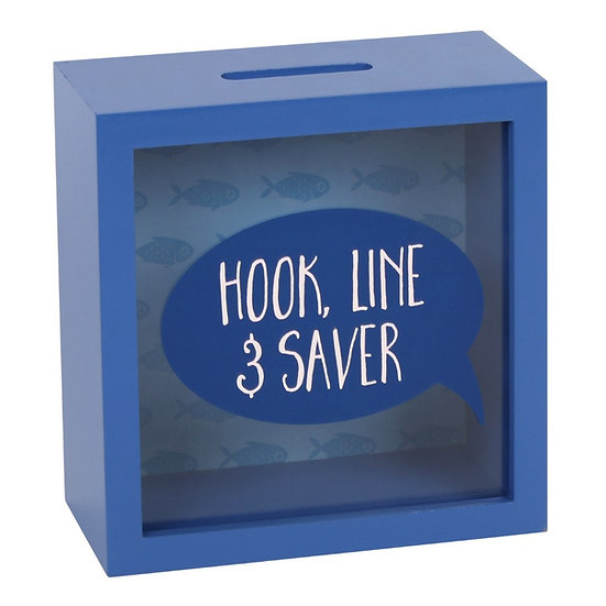 Hook, Line & Saver Fund Money Box