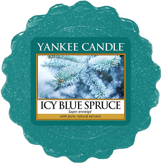 Yankee Candle Icy Blue Spruce Wax Melt Tart