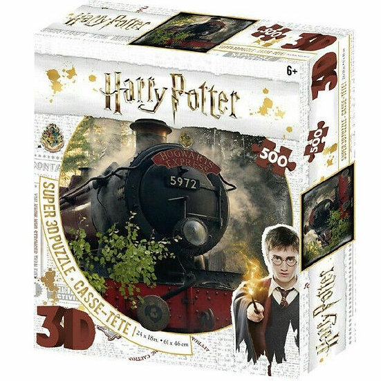 Harry Potter 3D Jigsaw Puzzle (500 Pieces) - Hogwarts Express