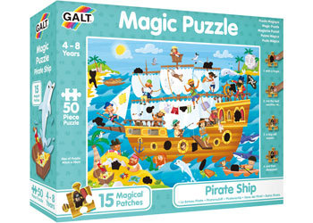 Magic Puzzle - Pirate Ship