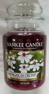 Yankee Candle Madagascan Orchid - Large Candle Jar 623g