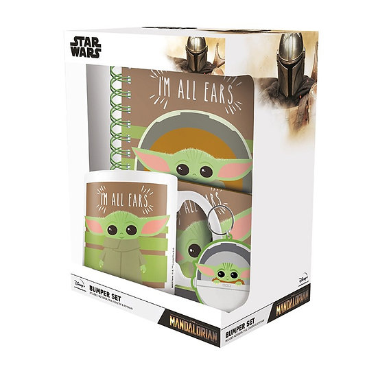 Star Wars The Mandalorian (I'm All Ears) Bumper Gift Set