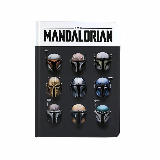 Star Wars The Mandalorian Notebook