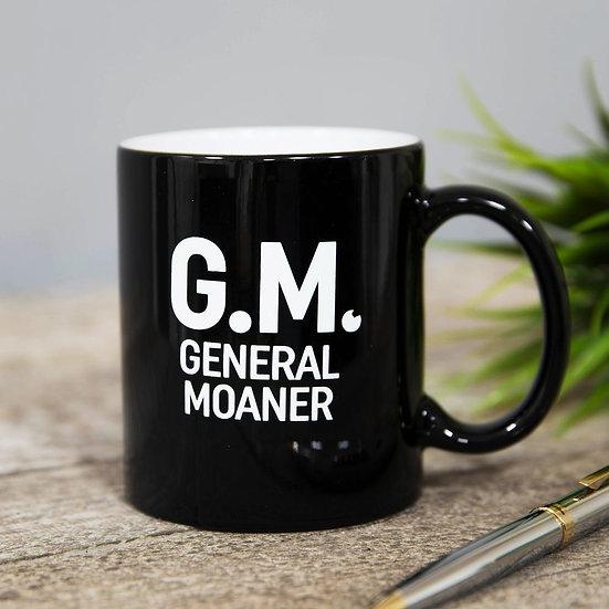 G M - General Moaner Mug