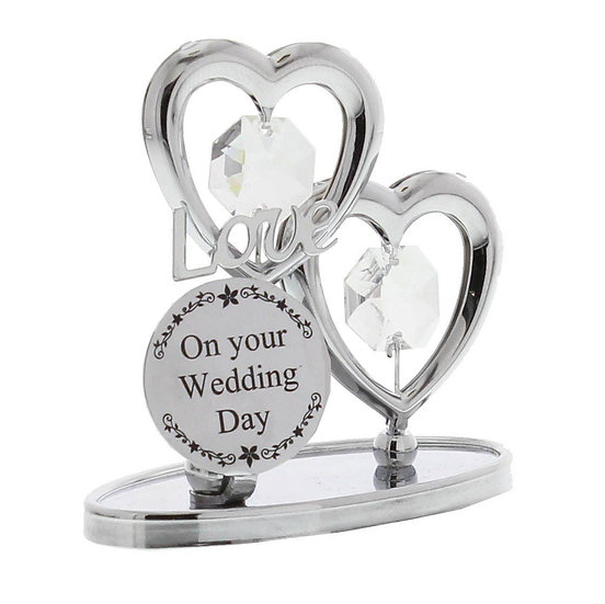 Wedding Day Crystocraft Ornament