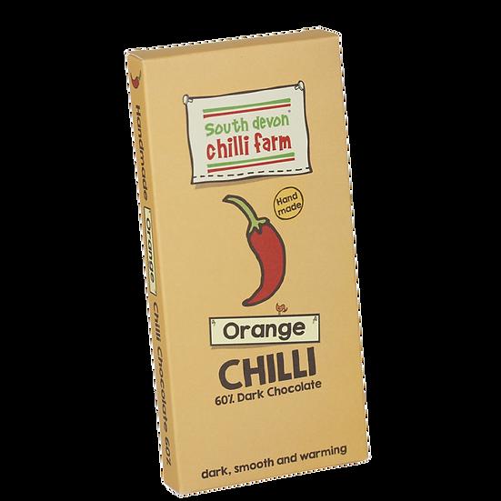 Orange Chilli Chocolate 80g