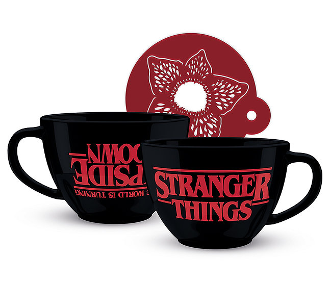 Stranger Things (The World is Turning Upside Down)  Cappuccino Mug
